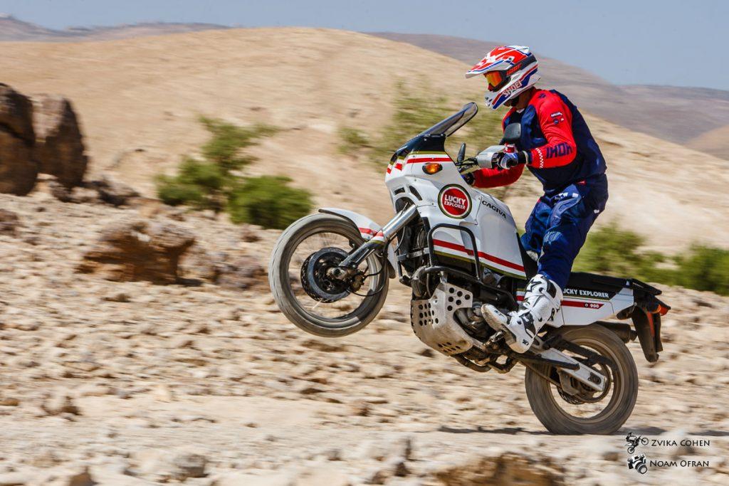אופנוע דקאר סטייל - מרוץ ראלי אופנוע ליטר