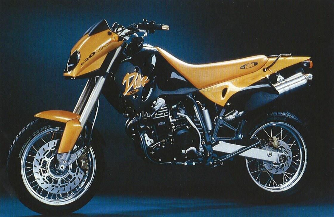 אופנוע כתום