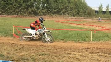 יואב שפירא - אופנוע הוסקוורנה 250 - סיקס דייז 2017
