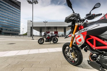 Aprilia Dorsoduro and Shiver 900 (1)