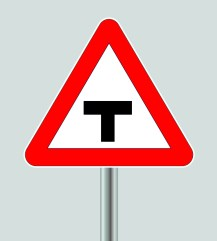 junction-sign-T