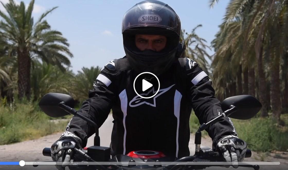 האופנוע למעיינות