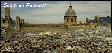 ITALIA SOMMERSA - SALUTI DA PALERMO!
