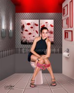 Roberta Capua, showgirl, model