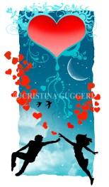 Amore e cuori san valentino