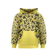 felix-the-cat-yellow-kids-pullover-hoodie