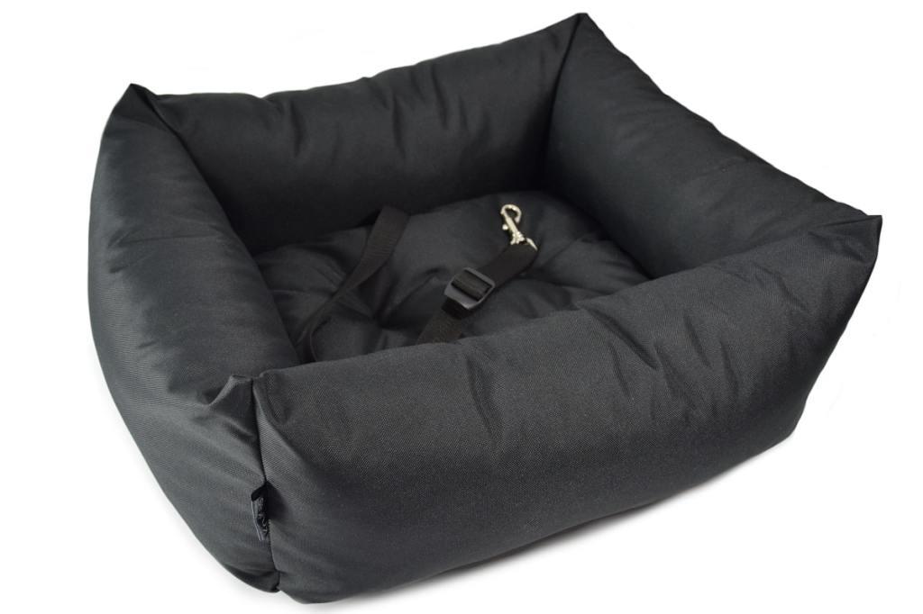 KryKas-fotelik samochodowy dla pupila Classic - kolor czarny