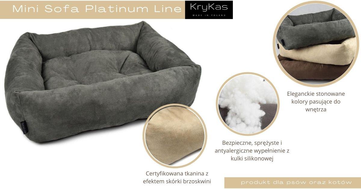 KryKas - Mini Sofa Platinum Line