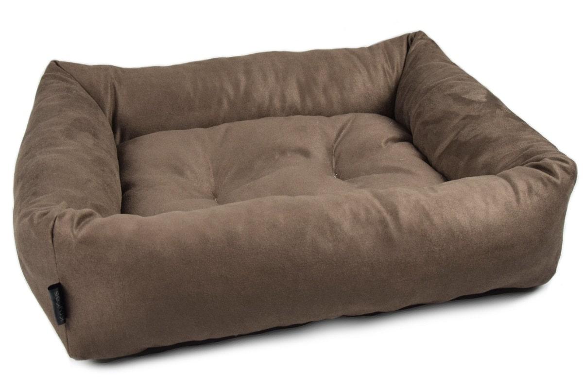 KryKas-legowisko dla kota psa - Mini Sofa Platinum Line - brązowa