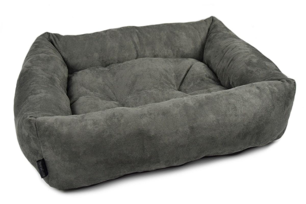 KryKas-legowisko dla kota psa - Mini Sofa Platinum Line - grafitowa