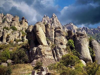 Долина привидений в Алуште (Крым): как добраться на машине ...