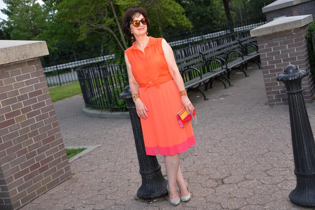 #pomaranczowasukienka #orangedress