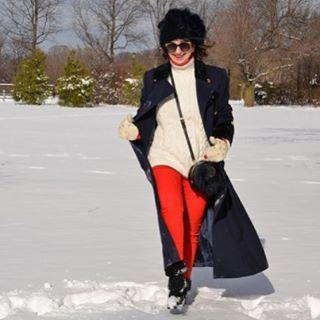 snow womanswear winter winterfashion ootd over50 instamoda happy fashionblogger fashionbloghellip
