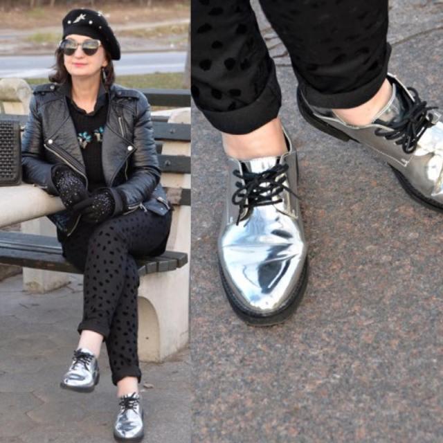 ootd instamoment instastyle shoes silvershoes mylook myblog polishblogger polishwoman wiwhellip