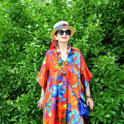 mylook ootd fashion over50 fashionpost fashionblogger bloggerstyle style mididress outfithellip