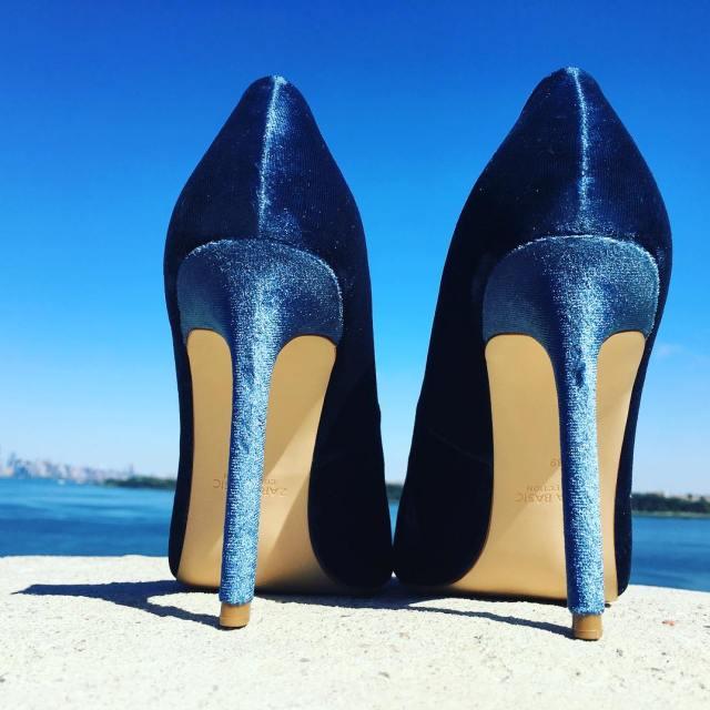 myshoes highheels blue wysokieobcasy mojebuty iloveshoes ilovehighheels fashion style mystylehellip