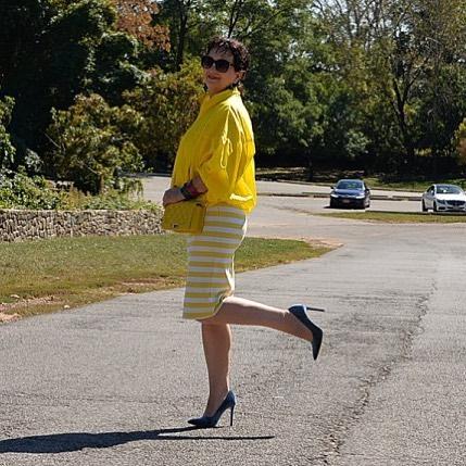 hi mystyle fashion fashionblog blogger mylook style yellow instapic lookofthedayhellip