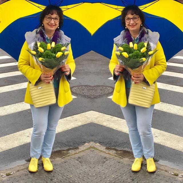 hello today mylook mystyle modnapolka moda style yellow ootd fashionhellip