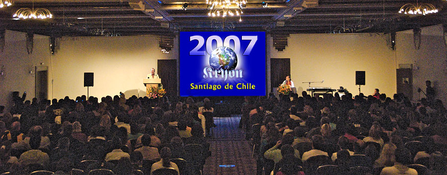 Kryon em Santiago do Chile, 15/04/2007
