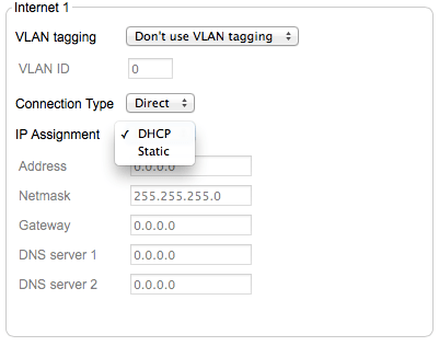 Configure Static Addresses On A Meraki - krypted