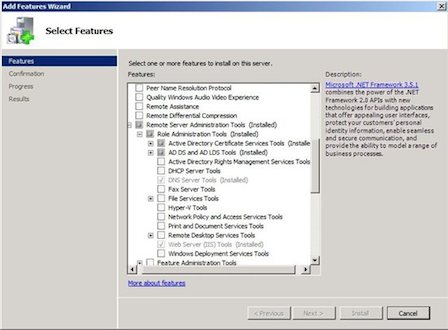 Use Active Directory Commandlets On Computers That Aren't