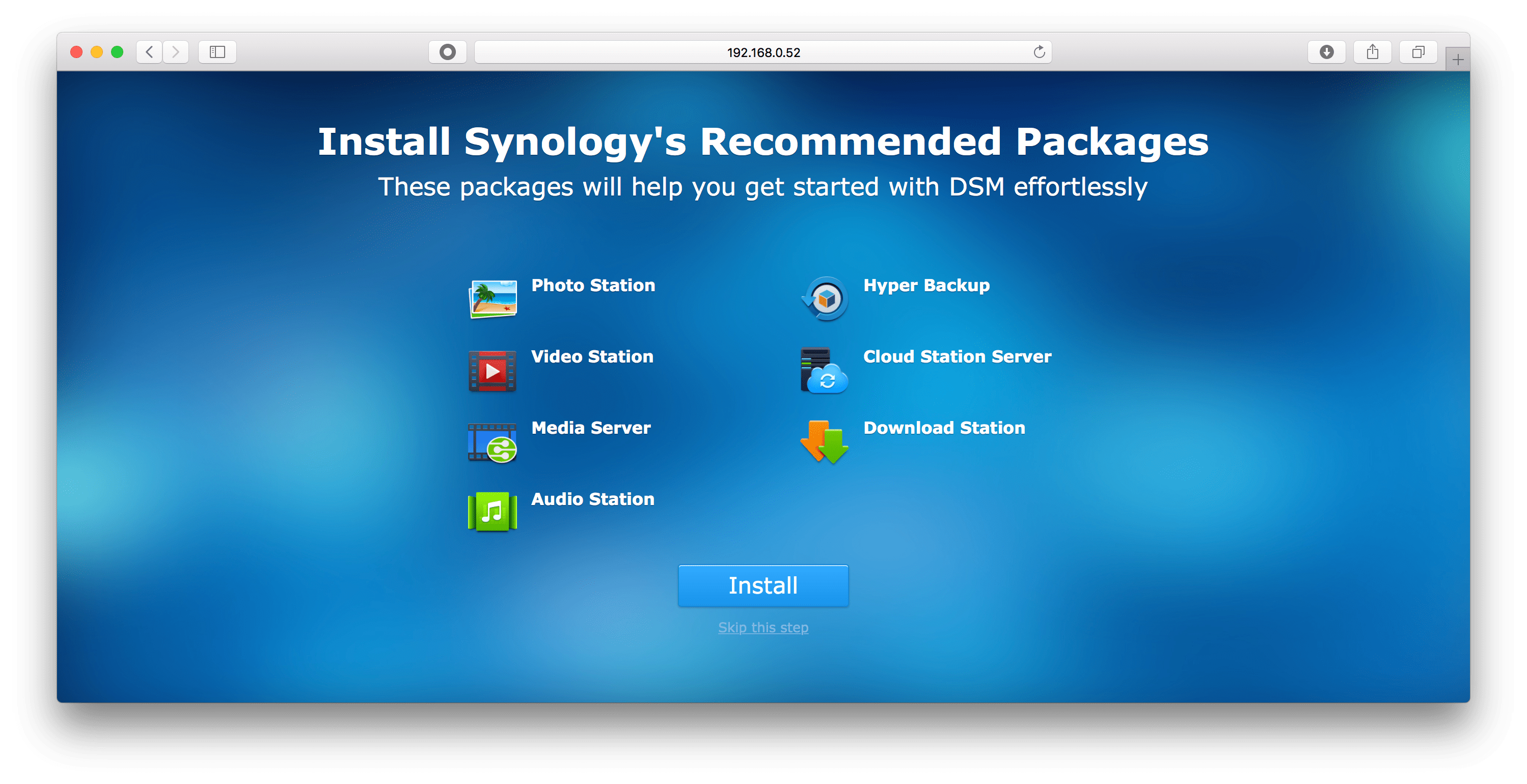 Basic Synology NAS Setup - krypted