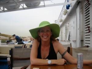 Lisa looks cute in hats