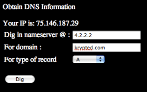 DNS Information