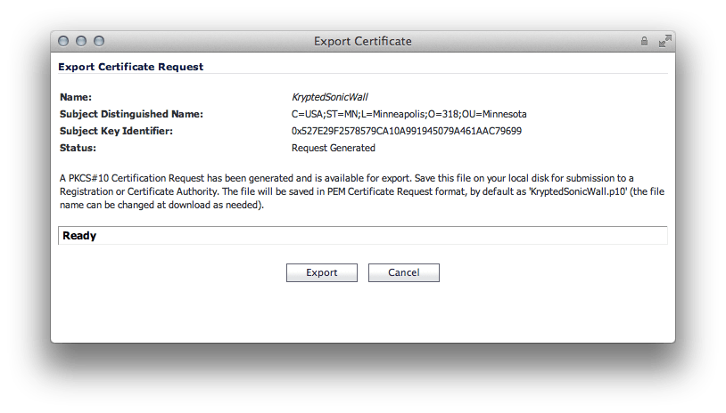 Replacing The Default Ssl Cert For Sonicwalls Krypted
