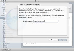 Mountain Lion Server :: Configuring Email Notifications in Calendar Server