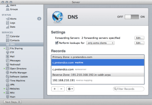 Show All Records Option For DNS In Mountain Lion Server