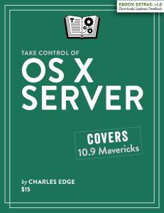 TCo OS X Server 1.0 Cover for PDF