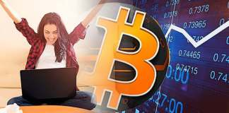bitcoin win oslava rast stupanie