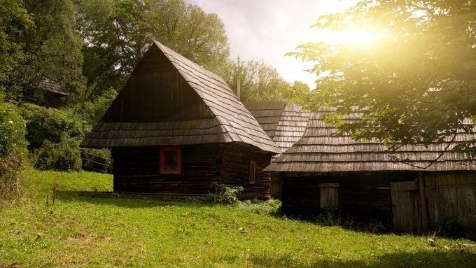 Traditional Slovakian Timber Houses