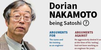 Dorian as Satoshi Nakamoto proof