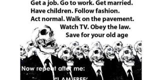 society brainwashing i am free