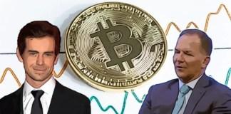 Bitcoin, dorsey a tudor kryptocelebrity