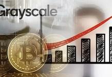 Grayscale reklama na Bitcoin v TV