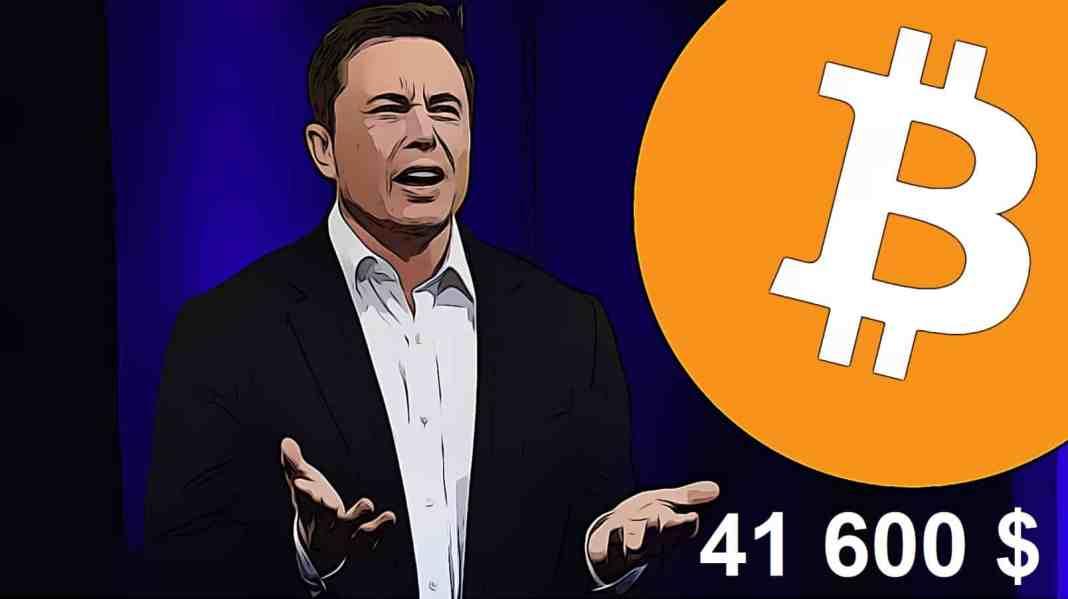 Elon Musk Tesla versus Bitcoin