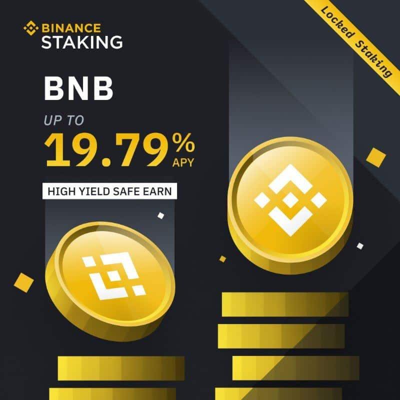 BNB staking binance
