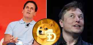 Elon Musk a Mark Cuban