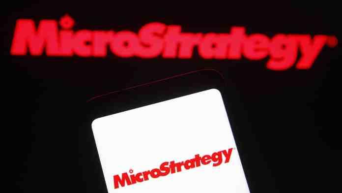 microstrategy btc Zdroj: Shutterstock.com/viewimage