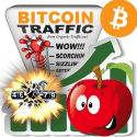 Bitcoin (BTC) Webtraffic