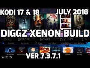 NEW DIGGZ XENON BUILD UPDATE - BEST BUILD FOR KODI 17 & 18 - Kodi