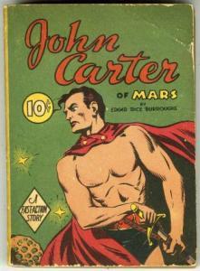 Big Little Book -nn John Carter of Mars (Dell, 1940)