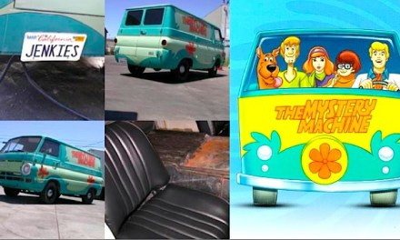 For Sale: The Mystery Machine, for $3200.  Jenkies.