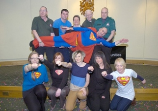 Superman Dancers Go For Guinness World Record To Benefit Charity