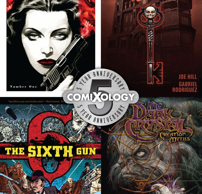 ComiXology Celebrates 5-Year Anniversary With Booth At Comic-Con International 2012