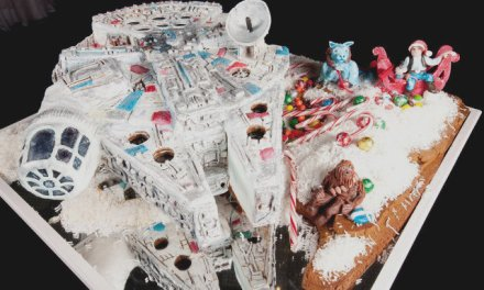 Gingerbread Millennium Falcon, How We Love Thee