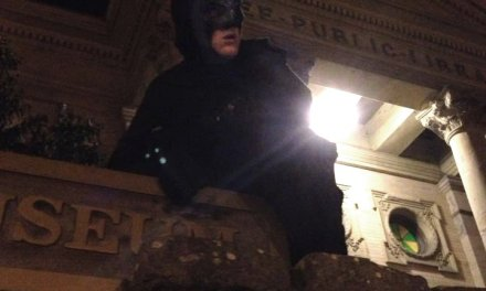 A Dark Knight Rises In Petaluma, California